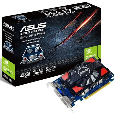 carte graphique pc bureau carte graphique asus gt 730 4gd3 4 go