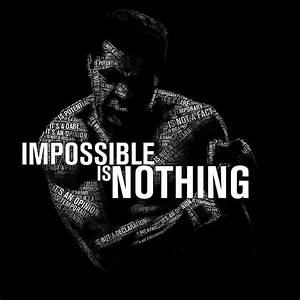 Download Impossible Is Nothing - Muhammad Ali HD wallpaper ...