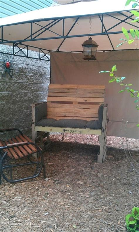 diy awesome outdoor pallet sofa easy diy and crafts diy furniture pallet sofa