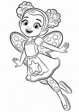 Coloring Cafe Dazzle Butterbean Hatcher Abby Printable للتلوين Cartoon Butterbeans رسومات Colouring Fairy Sheets للاطفال اطفال Princess Disney sketch template