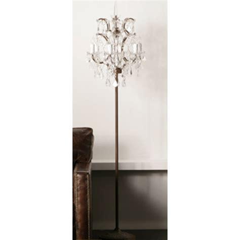 Standing Chandelier Floor L by 25 Best Collection Of Black Chandelier Standing Ls