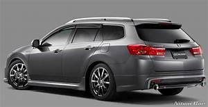 Mugen Rear Lip Spoiler Acura Tsx    Accord Cw2 Wagon 2009  84111