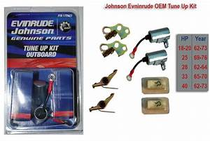 40 Hp Johnson Outboard - Replacement Engine Parts