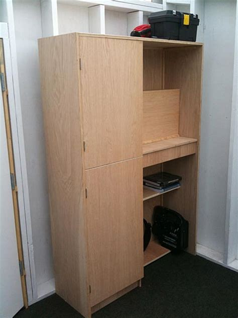 Plywood Storage Cabinet by How To Build A Wood Storage Closet Norm Abrams Plans