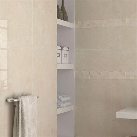 atrium luxor marfil glazed porcelain wall tile