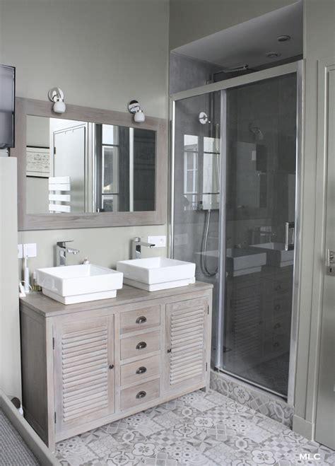 meuble cuisine persienne le shabby chic contemporain d 39 un appartement parisien