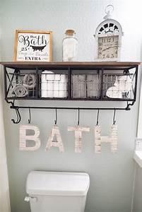 full bathroom makeover with floors and paint sw sea salt With bath wall decor
