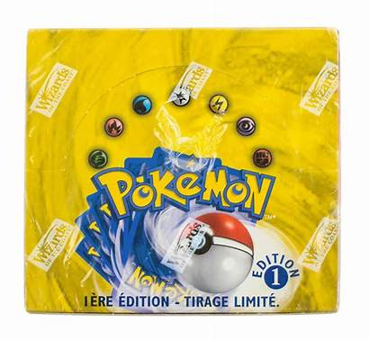 Pokemon Booster Base Edition 1st French Card