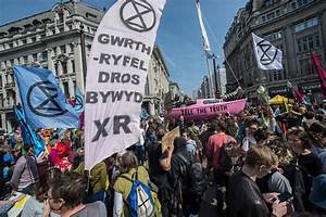 Pictures From The Extinction Rebellion Protests