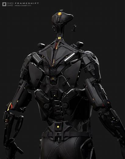 Exoskeleton Concept Artstation Sci Armor Fi Suit