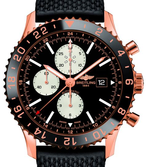 Breitling Chronoliner Red Gold Limited Edition Watch