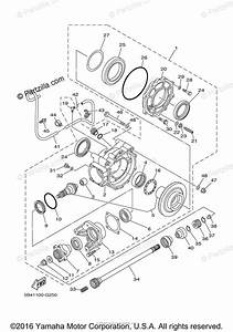 Yamaha Side By Side 2009 Oem Parts Diagram For Drive Shaft