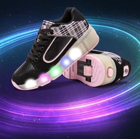 kids shoes with lights led lights heelys kids shoes with led light up wheels
