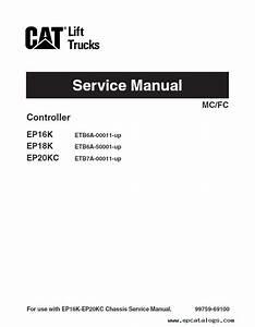 Caterpillar Ep16k Ep18k Ep20kc Forklifts Pdf Manual
