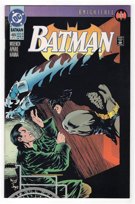 Batman #499 Regular Kelley Jones Cover (1993) | Dc comics ...