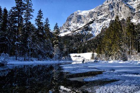 Im Winter by Winterwanderung Vom Bergsteigerdorf Ramsau Durch Den