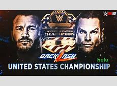 WWE Backlash 2018 Jeff Hardy vs Randy Orton, United