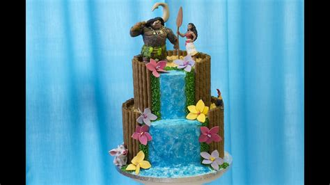 gateau vaiana moana cake design youtube