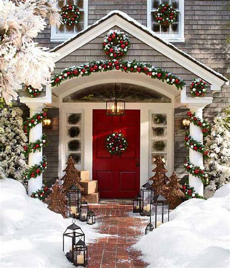 front house christmas decorations 40 cool diy decorating ideas for christmas front porch amazing diy interior home design