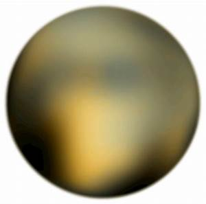 Pluto 180 Degree Face From Hubble Telescope by Merlin2525 ...