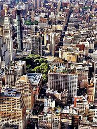 New York City Skyline From Above