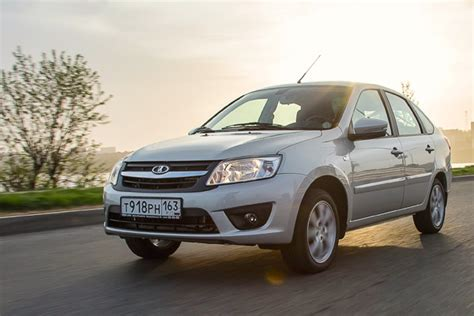 Lada H9 by Kazakhstan Year 2014 Lada Granta Catches Up On