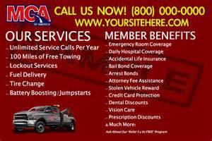 Business MCA Benefits Flyers