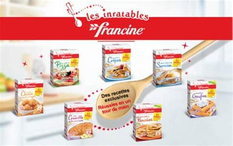 francine inratables p 226 te 224 cr 234 pes 100 rembours 233
