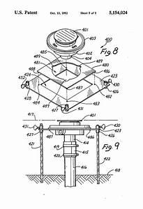 patent us5154024 floor sink drain installation method With floor installation