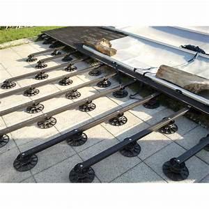 lambourdes en bois composite pour terrasse With pose de lambourde pour terrasse