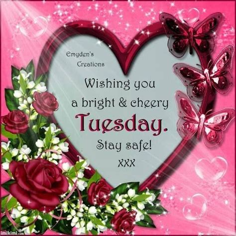wishing   bright  cheery tuesday pictures