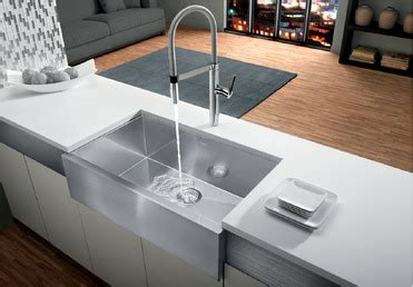 blanco precision super single bowl  apron blanco