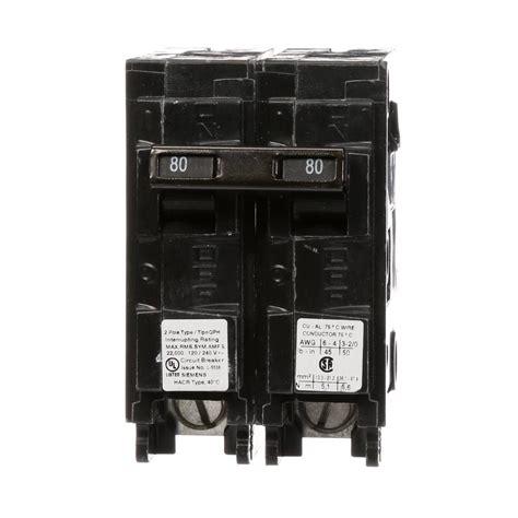 Siemens Amp Pole Qph Circuit Breaker