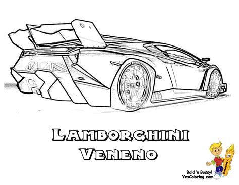 Coloring Lamborghini by Exclusive Lamborghini Coloring Pages Cars Free
