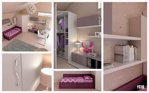 chambre enfant complete avec lit canape moretti compact With canapé lit chambre ado