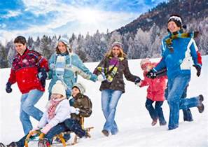 Outdoor Winter Family Activities