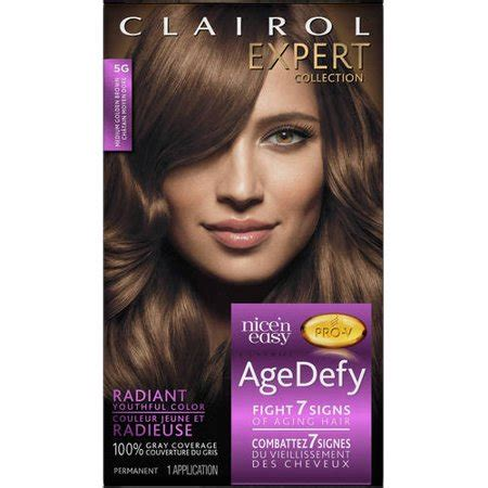 clairol age defy hair color clairol age defy expert collection hair color walmart