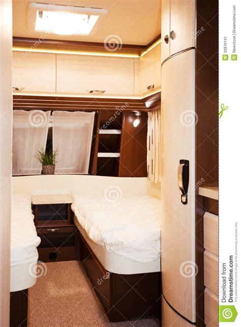 caravane 2 chambres intérieur de chambre à coucher de caravane résidentielle