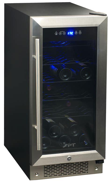 Spt 32 Bottle Under Counter Wine Beverage Cooler