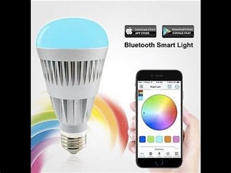 led light bulb controlled by your iphone how to guide