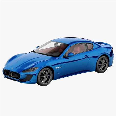 Maserati 2013 Models by 3d Model Maserati Granturismo Mc 2013