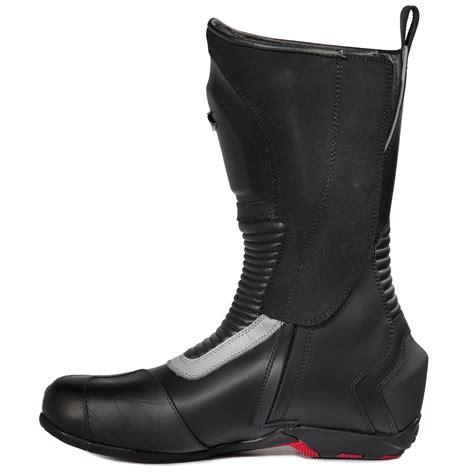 road motorbike boots spyke road runner wp waterproof motorcycle boots touring