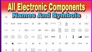 Name And Symbols Of Electronic Components