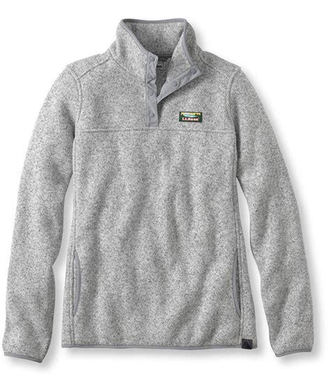 ll bean sweater fleece bean 39 s sweater fleece pullover from l l bean inc