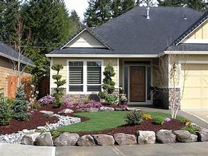front yard landscaping ideas for small ranch house design With front yard landscaping ideas for small homes