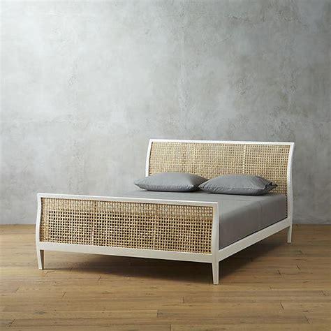 white  beige cecilia bed