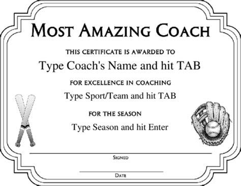 Baseball Achievement Certificate Baseball Success Sports Award Certificate Template Quotes