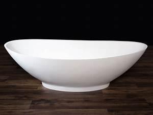 Freistehende Badewanne Mineralguss : freistehende badewanne como aus mineralguss wei matt ~ Michelbontemps.com Haus und Dekorationen
