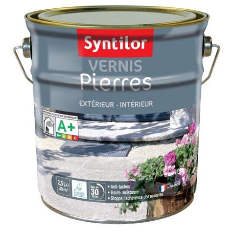 vernis pour carrelage exterieur vernis ext 233 rieur int 233 rieur syntilor incolore mat 2 5l leroy merlin