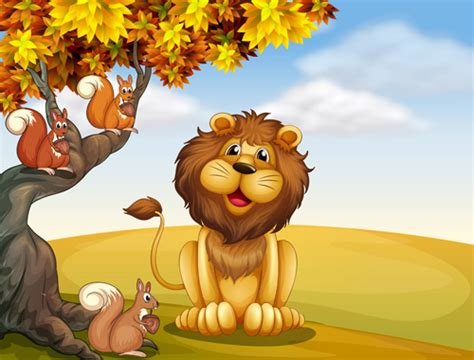 Cartoon Lion Free Vector Download (15,660 Free Vector) For